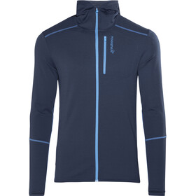Norrøna Trollveggen Warm/Wool1 Zip Hoodie Herre indigo night